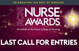 RCNi Nurse Awards 2020 last call for entries