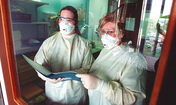 Use of personal protective equipment in nursing practice