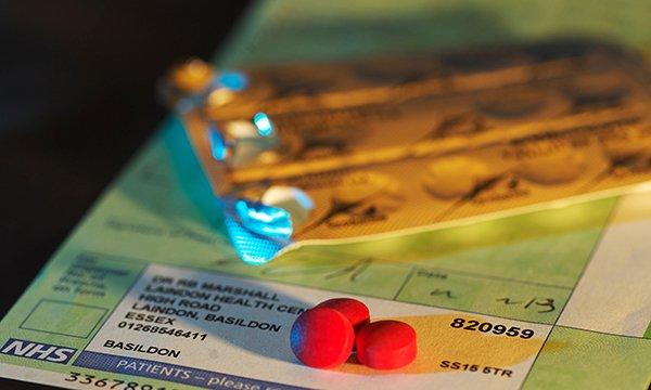 Medicine prescribed by a primary health care nurse