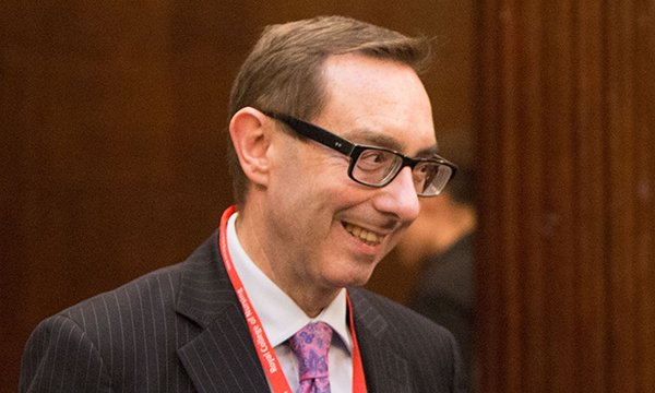 Picture of Dr David Foster, a registered nurse, midwife and former deputy chief nursing officer for England, who has been named chair of an NMC review of post-registration standards for nurses and midwives.