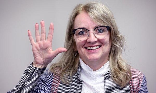 Image shows RCNi nurse award-winner Janine McKnight-Cowan