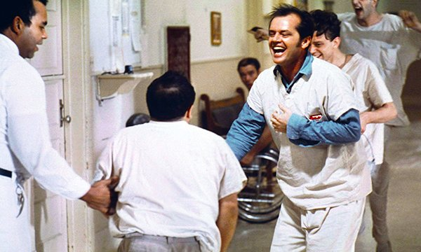 Picture shows a scene from the film One Flew Over the Cuckoo's Nest. A nurse is producing podcasts that aim to dispel myths about mental illness, remove stigma and give patients a voice.