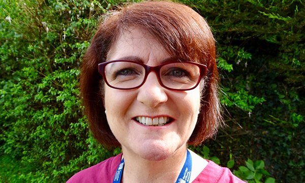 Picture of emergency nurse Martina Browne, who explains why she still loves the role after 35 years.