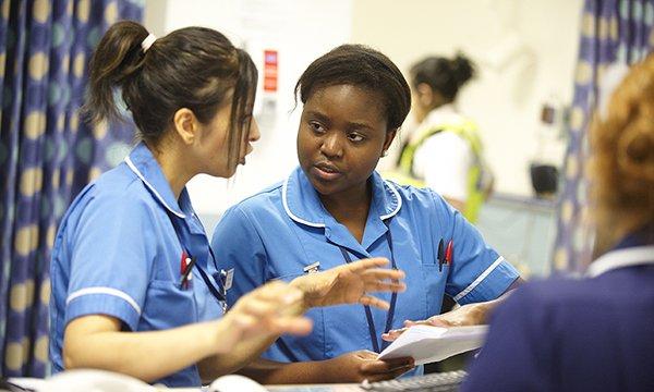 Picture of children's nurses
