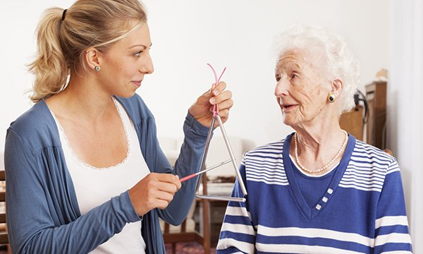 Meaningful activity in advanced dementia